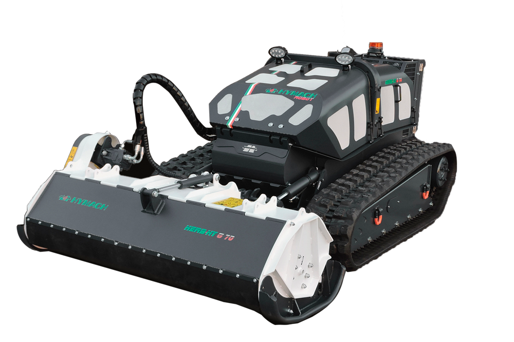 Robot portaherramientas controlado por radio Herbhy G70