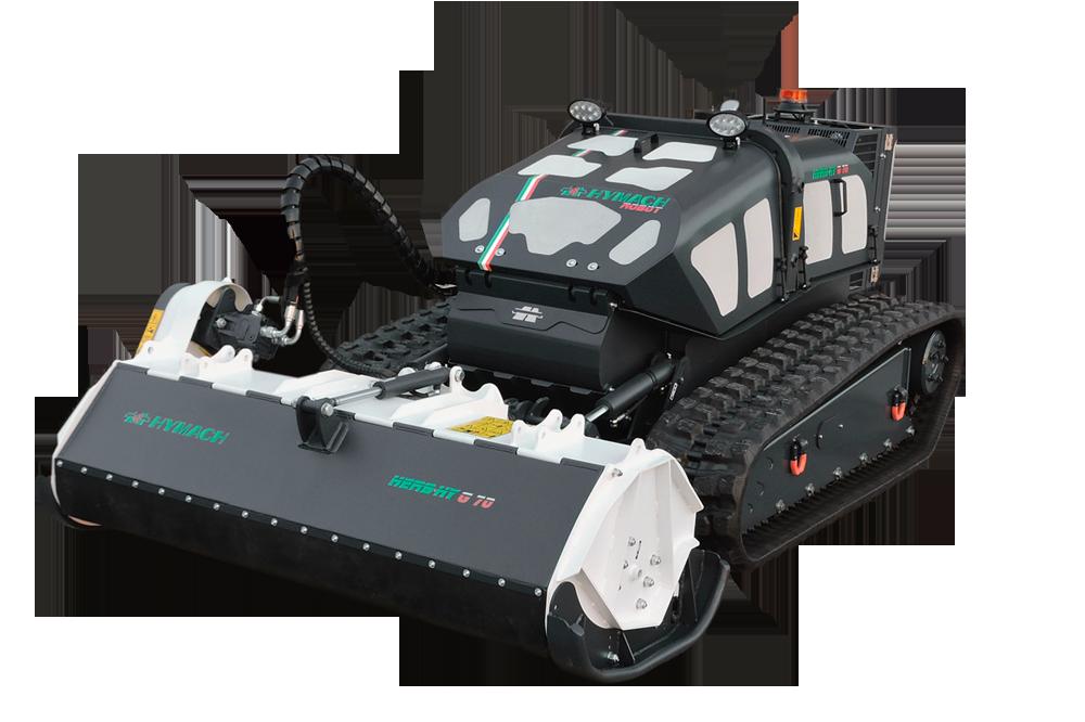 Funkgesteuerter Werkzeugträger-Roboter HERBHY G70