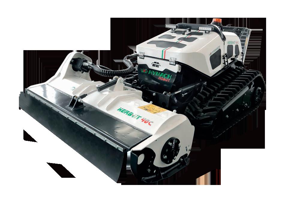Robot portaherramientas controlado por radio Herbhy 40C