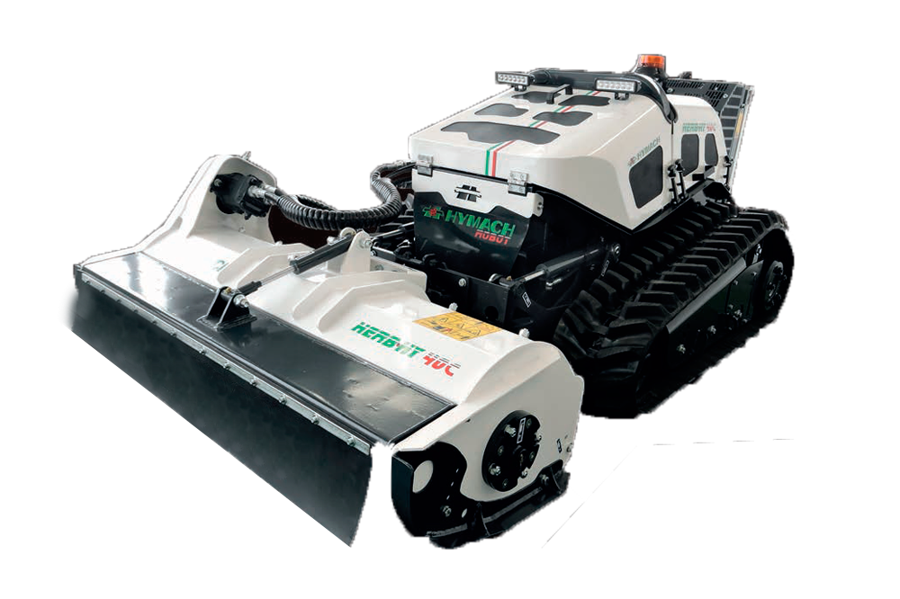 Funkgesteuerter Werkzeugträger-Roboter HERBHY 40C