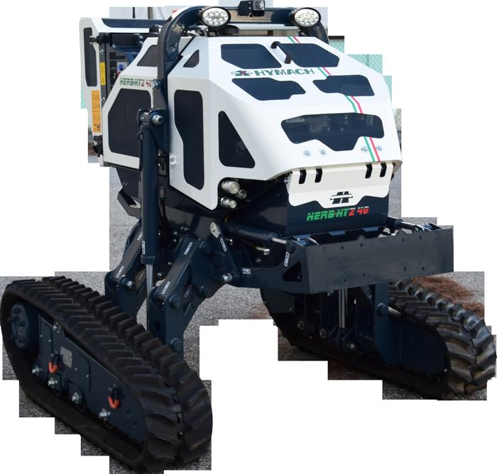 Robot portaherramientas controlado por radio Herbhy Z40